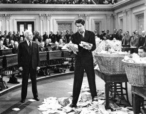 Claude Rains and Jimmy Stewart - ironic image