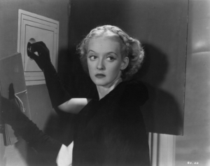 Bette Davis is decidedly up to no good