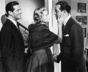 Robert Cummings, Grace Kelly, Ray Milland