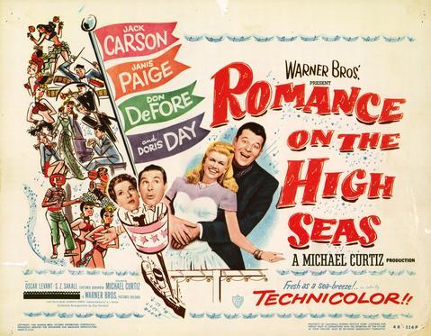 Image result for romance on the high seas