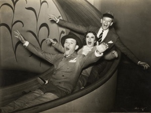 George Burns, Gracie Allen, Fred Astaire in A Damsel in Distress