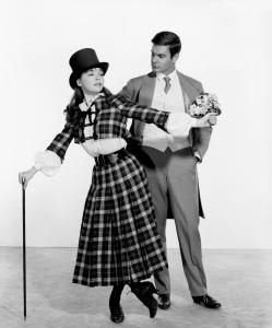 leslie caron & louis jourdan - gigi 1958