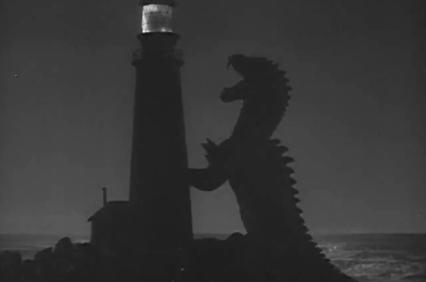 the fog horn and the murderer two short stories by ray rhedosaurus the lighthouse