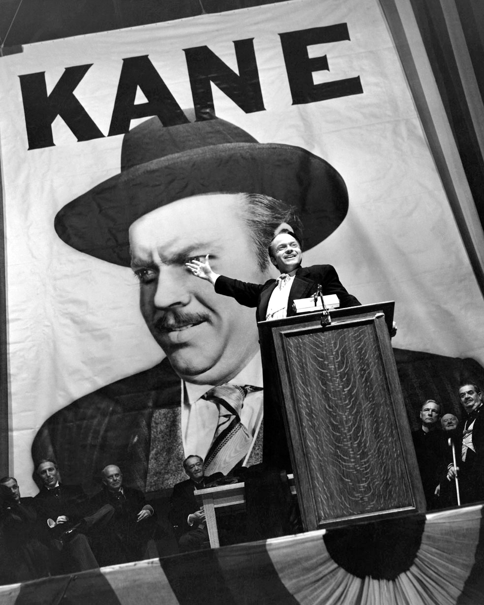 citizen kane christina wehner citizen kane welles podium