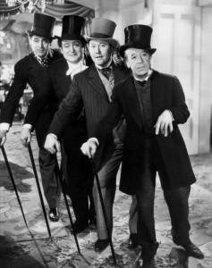 Four Gleeful Swindlers - Cary Grant, Edward Arnold, Jack Oakie,