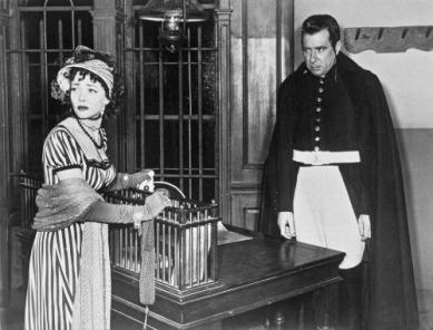 Fantine (Sidney) and Javert (Newton)